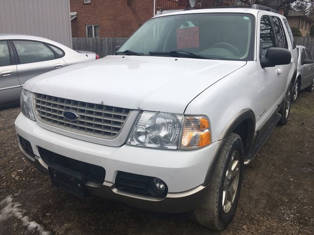 2004 ford explorer eddie bauer mississauga ontario used car for. Cars Review. Best American Auto & Cars Review