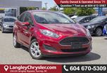2015 Ford Fiesta SE LOW KMS, LOCALLY DRIVEN & ACCIDENT FREE in Surrey, British Columbia