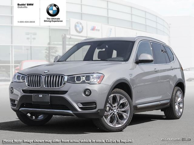 2017 Bmw X3 Xdrive28i Silver For 60620 In Oakville
