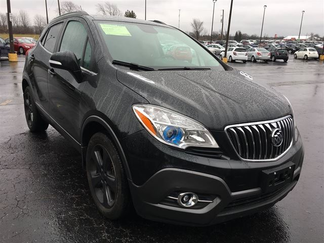 2014 buick encore cayuga ontario used car for sale 2684097. Black Bedroom Furniture Sets. Home Design Ideas
