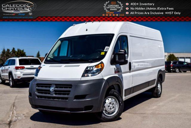 2017 Ram Promaster 2500 High Roof 159WB Backup Cam Bluetooth Pwr Windows Pwr Locks Keyless Entry in Bolton, Ontario
