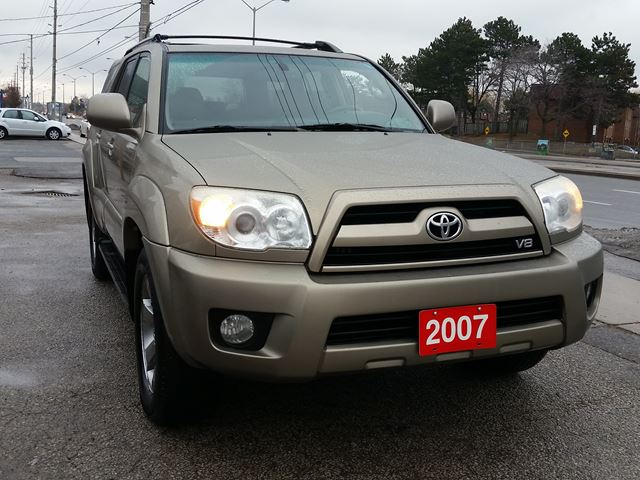 2007 toyota 4runner v8 limited scarborough ontario used. Black Bedroom Furniture Sets. Home Design Ideas