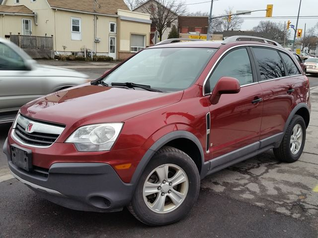 2009 saturn vue xe awd metallic red courtesy auto sales. Black Bedroom Furniture Sets. Home Design Ideas