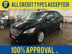 2014 Nissan Sentra SL*LEATHER*POWER SUNROOF*BACK-UP CAMERA*BLUETOOTH in Cambridge, Ontario