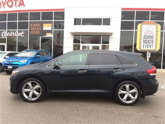 2014 toyota venza limited v6 burlington ontario used car for sale 2684976. Black Bedroom Furniture Sets. Home Design Ideas