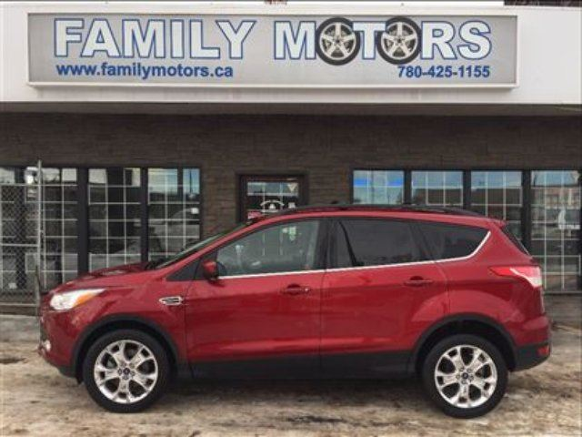 2013 Ford Escape Loaded 4x4 Nav Leather 88k Burgundy