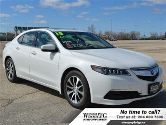 2015 ACURA TLX Tech w/Navigation *Accident-Free* in Winnipeg, Manitoba