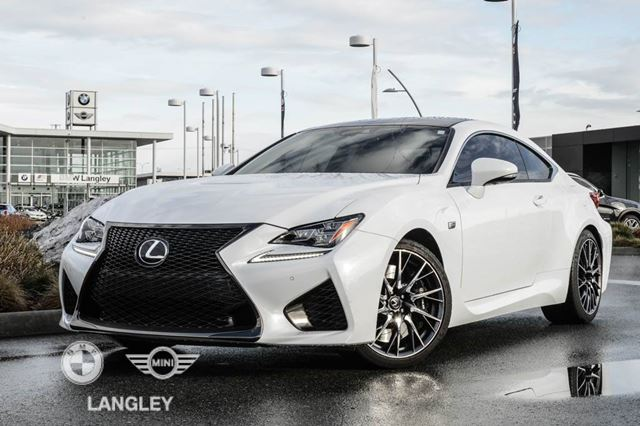 2015 LEXUS RC F Peformance Package! in Langley, British Columbia