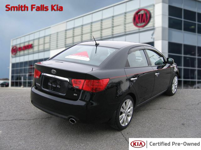 2013 kia forte sx 2 4 smiths falls ontario used car for. Black Bedroom Furniture Sets. Home Design Ideas