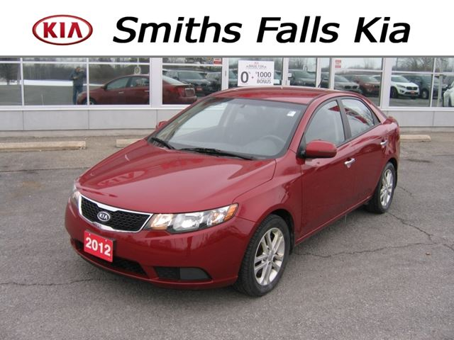 2012 kia forte ex smiths falls ontario used car for sale 2684985. Black Bedroom Furniture Sets. Home Design Ideas