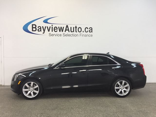 2014 CADILLAC ATS - SUNROOF! HEATED LEATHER! ON STAR! CRUISE! in Belleville, Ontario