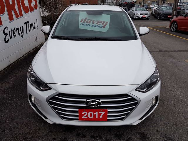 2017 Hyundai Elantra Gl Blind Spot Detection Back Up