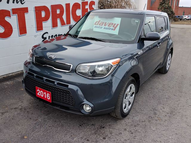 2016 KIA SOUL LX BLUETOOTH, MP3 INPUT, FOG LIGHTS in Oshawa, Ontario