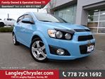 2014 Chevrolet Sonic LT Manual LOCALLY DRIVEN & ACCIDENT FREE in Surrey, British Columbia