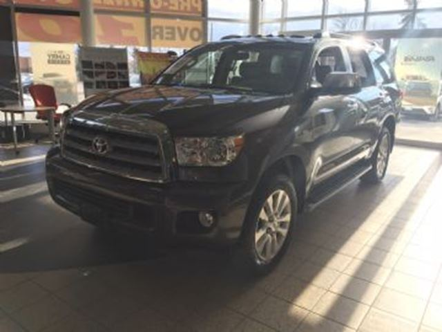 2017 toyota sequoia limited mississauga ontario used car for sale 2685383. Black Bedroom Furniture Sets. Home Design Ideas