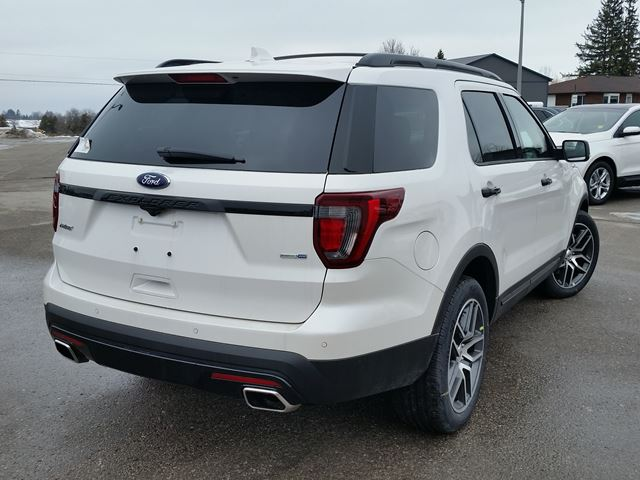 2017 ford explorer sport port perry ontario new car for sale 2684847. Black Bedroom Furniture Sets. Home Design Ideas