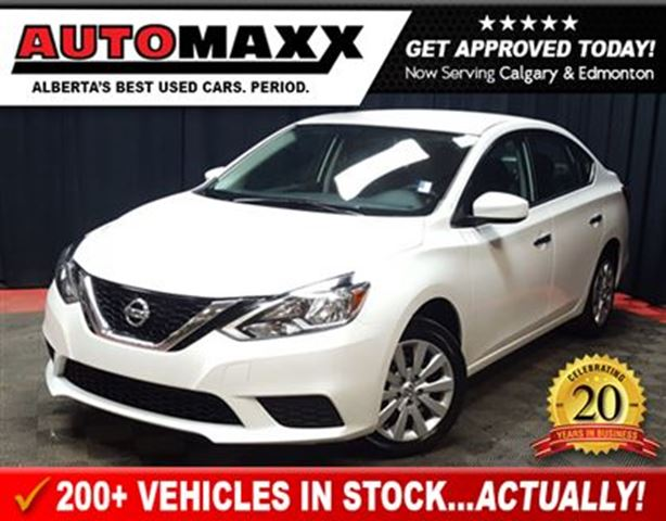 2016 nissan sentra 1 8 s white automaxx automotive. Black Bedroom Furniture Sets. Home Design Ideas