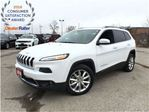 2016 Jeep Cherokee LIMITED**LEATHER**SUNROOF**BACK UP CAMERA**NAVIGAT in Mississauga, Ontario