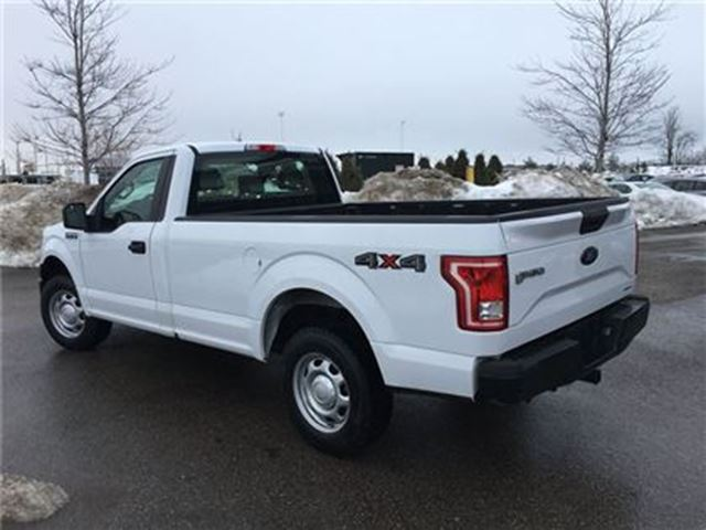 2016 ford f 150 xl reg cab 4x4 long box barrie ontario used car for sale 2685843. Black Bedroom Furniture Sets. Home Design Ideas