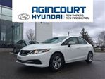 2015 Honda Civic LX/BACKUP CAM/HEATED SEATS/ONLY 54256KMS in Toronto, Ontario