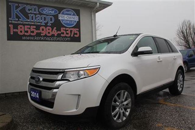 2014 ford edge limited essex ontario used car for sale 2685532. Black Bedroom Furniture Sets. Home Design Ideas