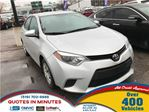 2014 Toyota Corolla CE   AUTO LOANS APPROVED in London, Ontario