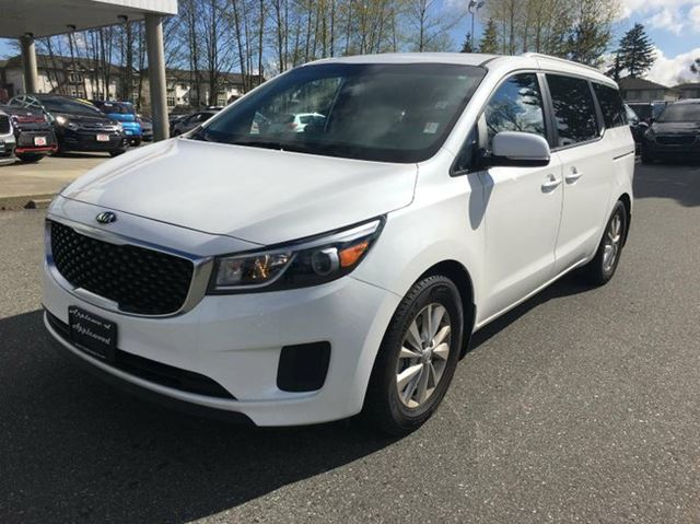 2016 kia sedona lx passenger van surrey british columbia used car for sale 2685502. Black Bedroom Furniture Sets. Home Design Ideas