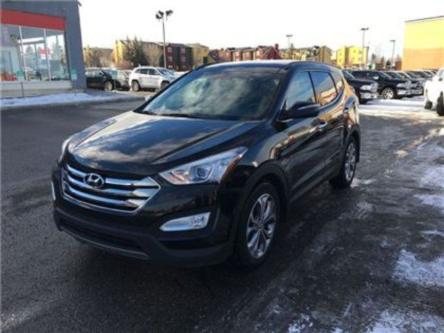 2014 HYUNDAI SANTA FE 2.0T SE-AWD, Leather Heated Seats in Okotoks, Alberta