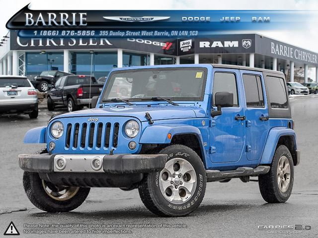 2015 jeep wrangler unlimited sahara barrie ontario used car for. Cars Review. Best American Auto & Cars Review