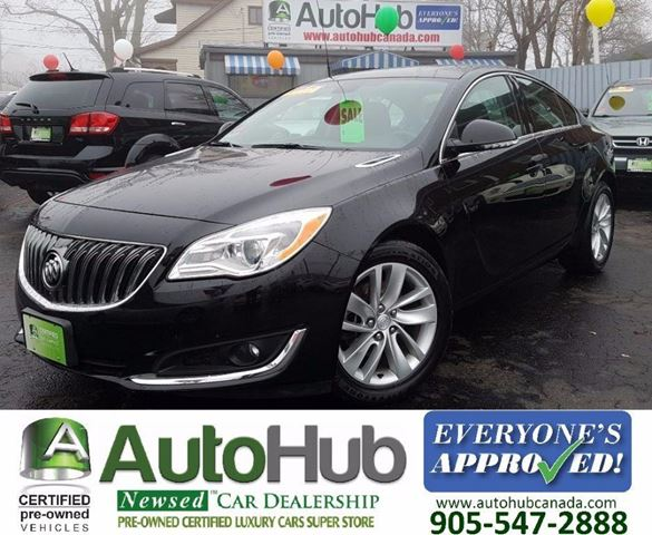 2015 BUICK REGAL TURBO  LEATHER  POWER SEAT  CAMER  ALLOY  LUX in Hamilton, Ontario