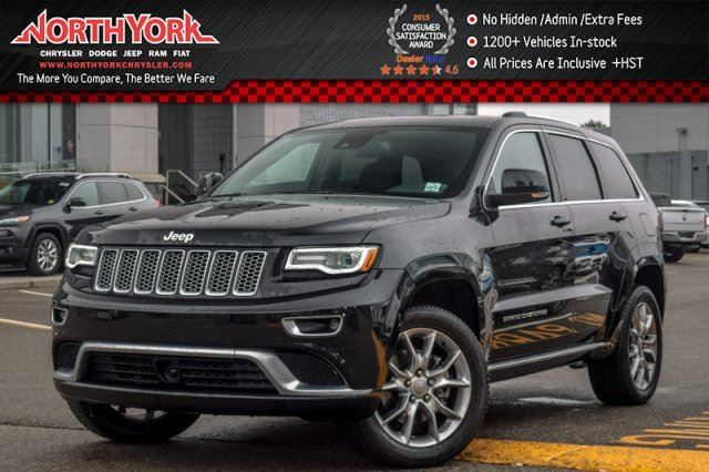 2016 jeep grand cherokee summit thornhill ontario used car for sale 2686029. Black Bedroom Furniture Sets. Home Design Ideas