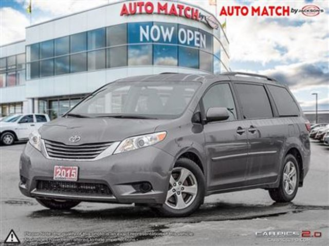 2015 toyota sienna le 8 passenger barrie ontario used car for sale 2686780. Black Bedroom Furniture Sets. Home Design Ideas