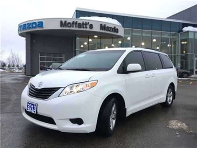 2013 toyota sienna le 8 passenger power sliding doors heated seats barrie ontario car for. Black Bedroom Furniture Sets. Home Design Ideas