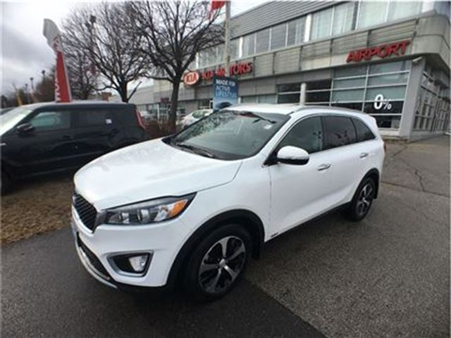 2016 Kia Sorento 3.3L EX 7-Seater, Leather, Blindspot Detection sys in Mississauga, Ontario