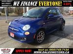 2012 Fiat 500 Sport 74 KM LEATHER SUNROOF in Hamilton, Ontario