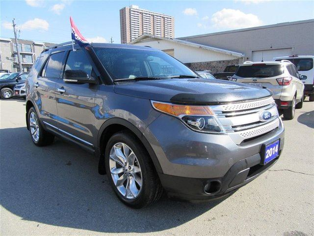 2014 ford explorer xlt 4wd toronto ontario used car for sale 2686839. Black Bedroom Furniture Sets. Home Design Ideas