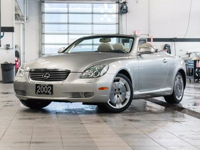 2002 lexus sc 430 rwd navigation package kelowna british columbia used car for sale 2686408. Black Bedroom Furniture Sets. Home Design Ideas
