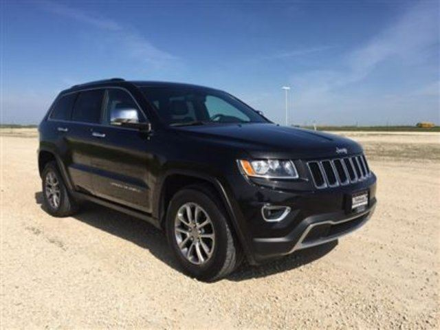 2015 jeep grand cherokee limited 4x4 winnipeg manitoba used car for sale 2686486. Black Bedroom Furniture Sets. Home Design Ideas