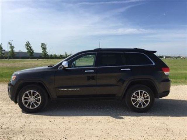 2015 jeep grand cherokee limited 4x4 winnipeg manitoba used car for. Black Bedroom Furniture Sets. Home Design Ideas