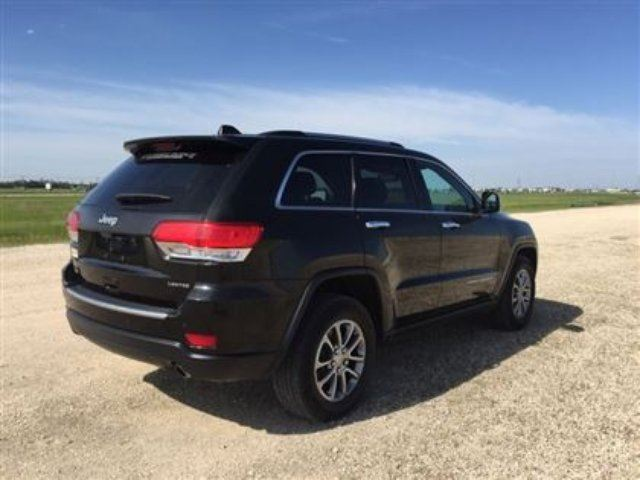 2015 Jeep Grand Cherokee Limited 4x4 Winnipeg Manitoba