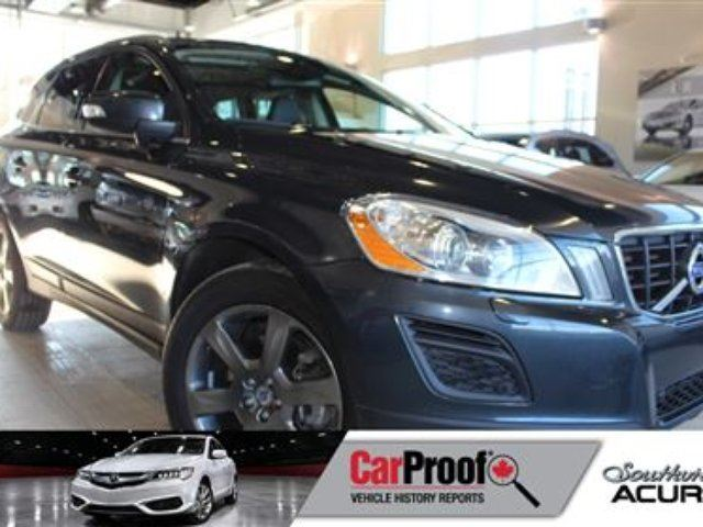 2013 VOLVO XC60 T6 AWD Leather Sunroof in Red Deer, Alberta