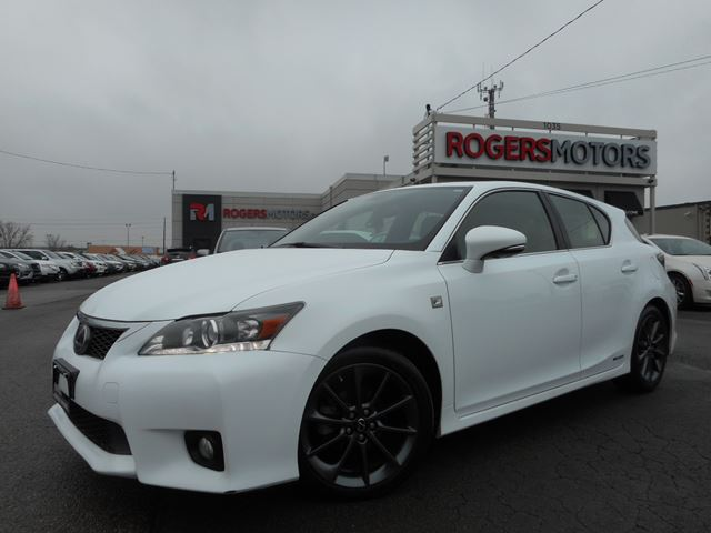 2013 lexus ct 200h f sport leather sunroof white rogers motors. Black Bedroom Furniture Sets. Home Design Ideas
