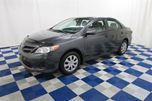 2011 Toyota Corolla CE/LOW KM/GREAT PRICE in Winnipeg, Manitoba