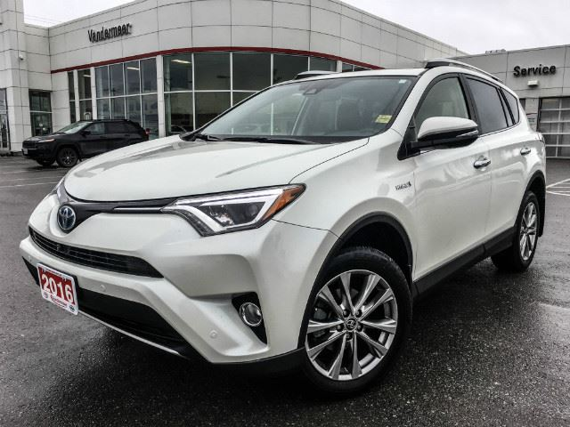 2016 toyota rav4 hybrid limited limited hybrid cobourg ontario used car for sale 2686751. Black Bedroom Furniture Sets. Home Design Ideas