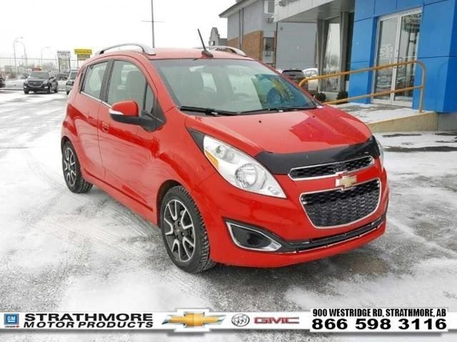 2014 Chevrolet Spark Lt Red Strathmore Motor Products