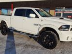 2015 Dodge RAM 1500 4WD CREWCAB SPORT Navigation (GPS), Leather, Heated Seats, Back-up Cam, A/C, - Edmonton in Sherwood Park, Alberta