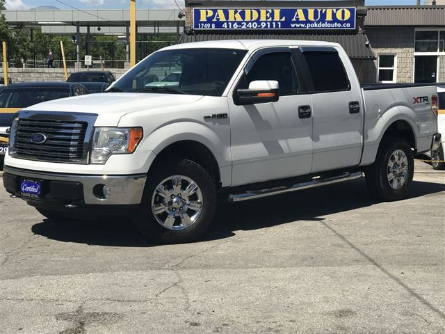 2010 ford f 150 xlt 4x4 supercrew cab chrome rims running board toronto ontario used car for. Black Bedroom Furniture Sets. Home Design Ideas