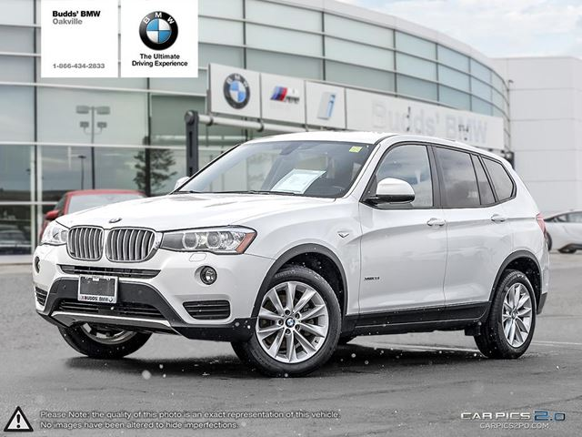 2016 bmw x3 xdrive28i oakville ontario used car for sale 2687225. Black Bedroom Furniture Sets. Home Design Ideas