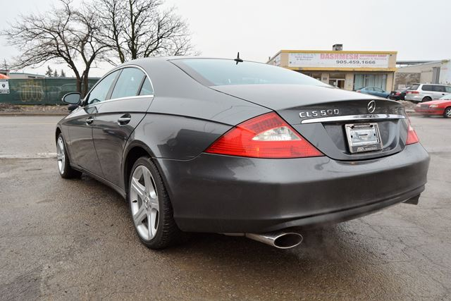 2006 mercedes benz cls class 500 navigation brampton. Black Bedroom Furniture Sets. Home Design Ideas