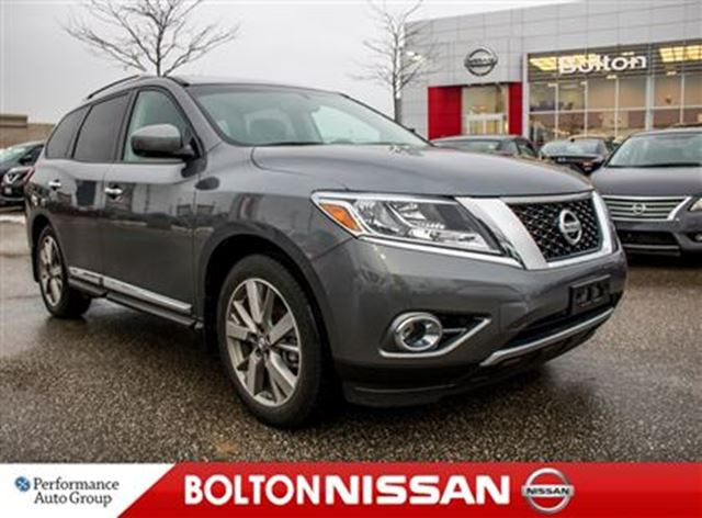 2016 nissan pathfinder platinum leather navi bluetooth awd bolton ontario used car for sale. Black Bedroom Furniture Sets. Home Design Ideas